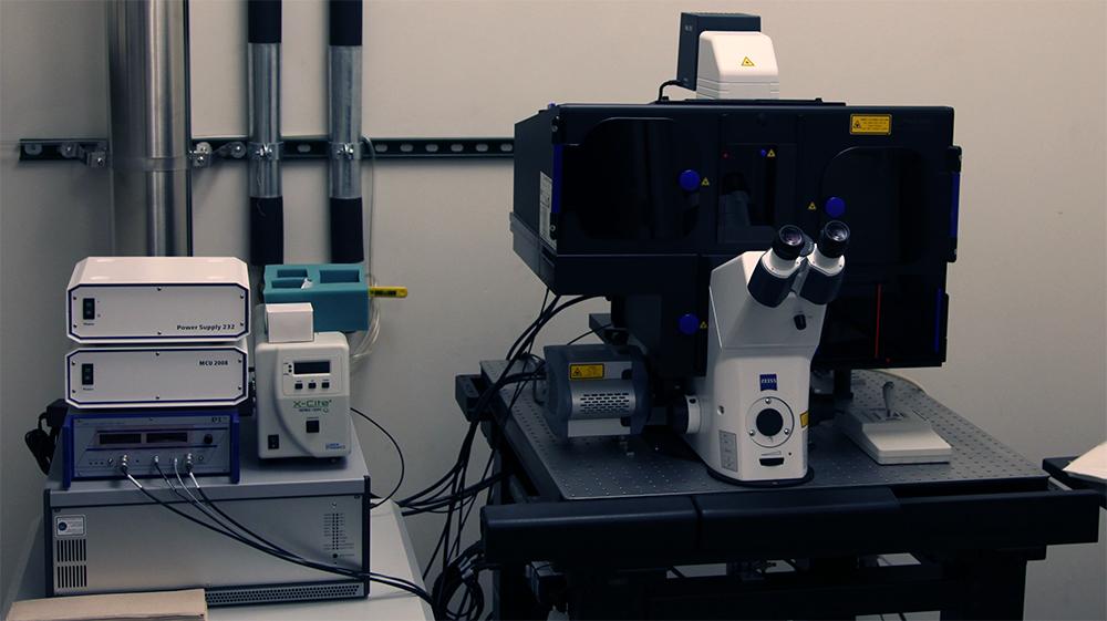 Микроскоп типа SR-SIM.