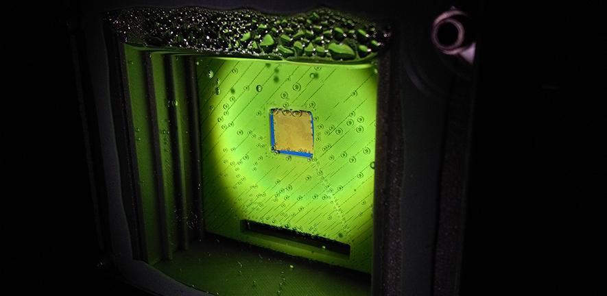 Искусственный лист— экспериментальная установка, производящая синтетический газ.