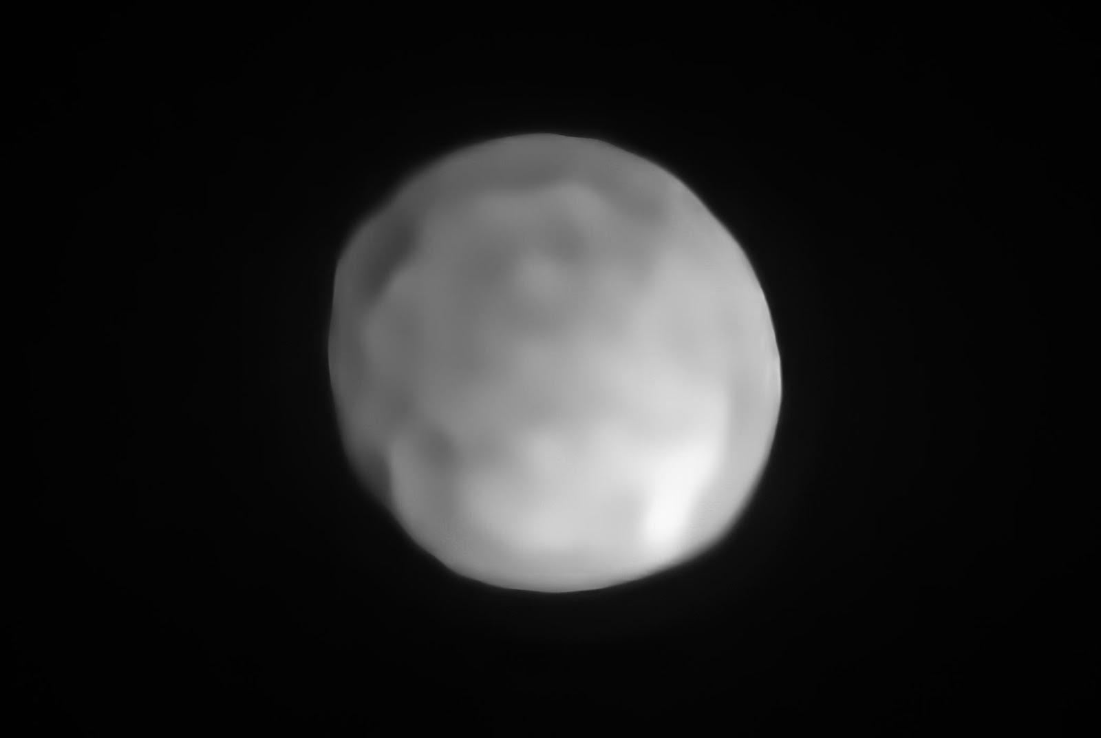Четвёртый по размерам астероид Гигея— снимок VLT/SPHERE