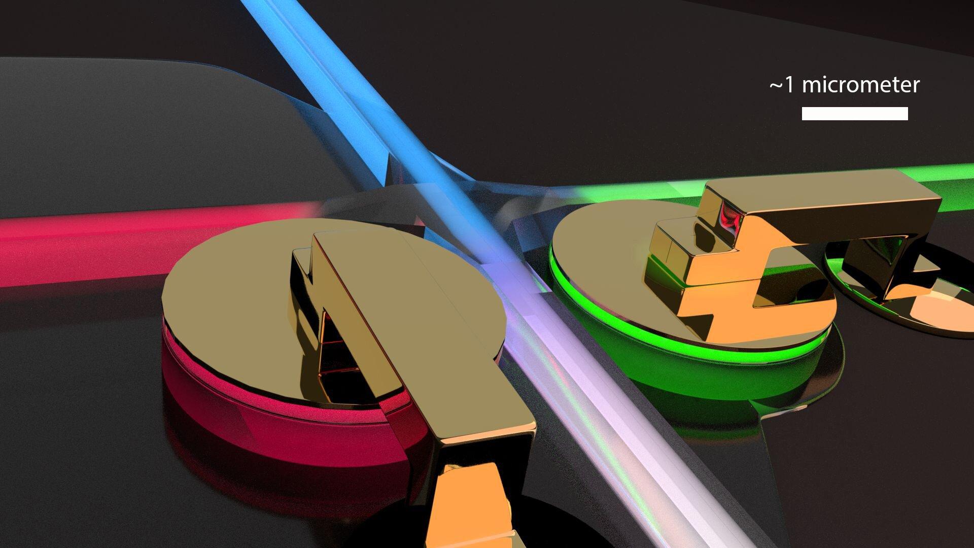 Сверхбыстрый нанооптический переключатель светового луча для компьютерных микросхем