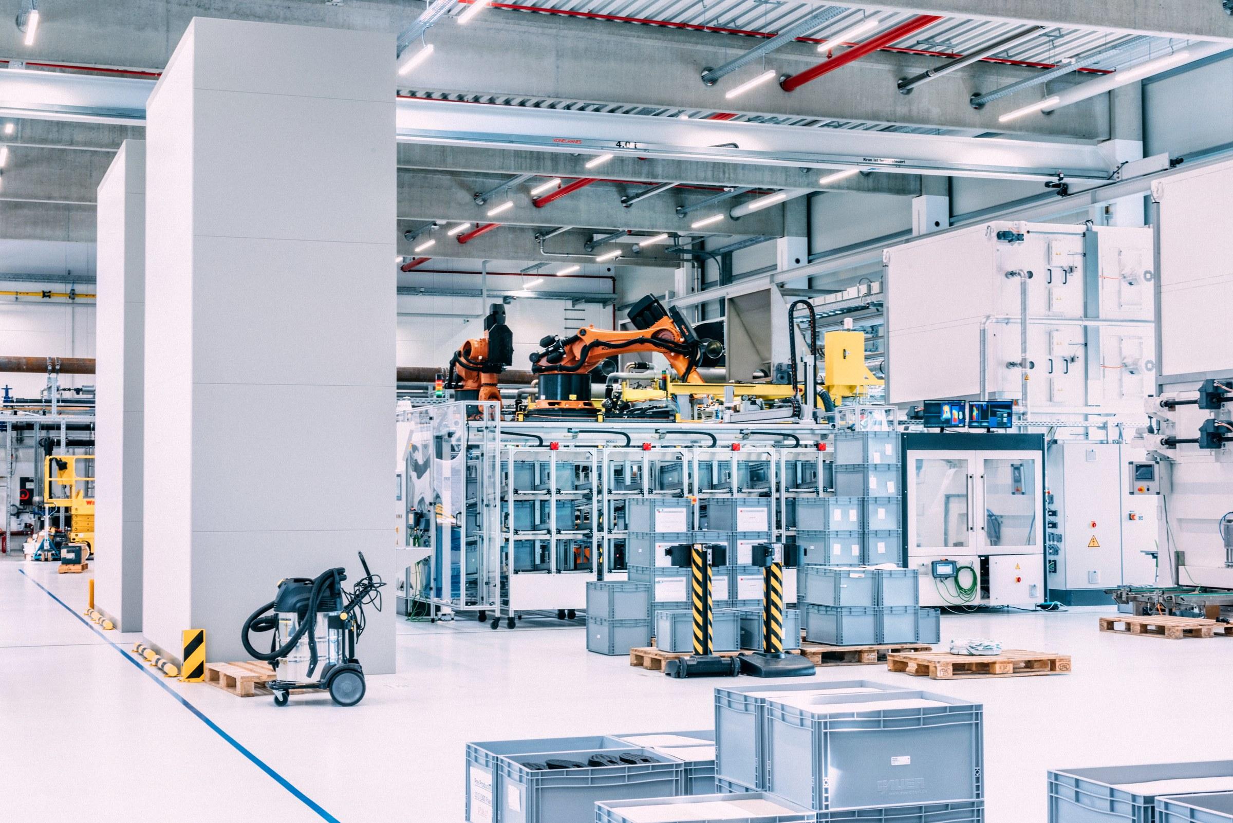 Роботизированная фабрика <i>Adidas</i>.