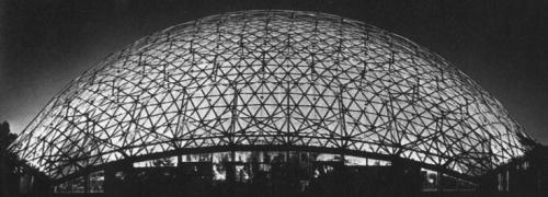 Один из куполов Бакминстера.