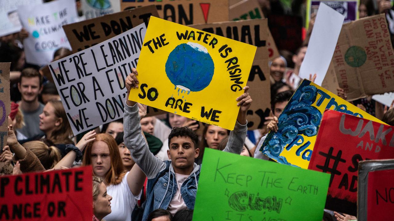 Мировая климатическая забастовка.