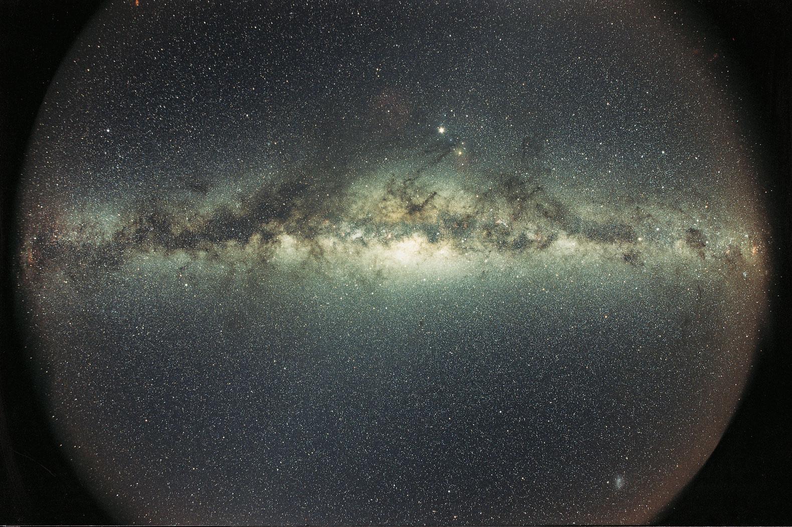 Галактика Млечный Путь. <i>© Dirk Horpe</i>.