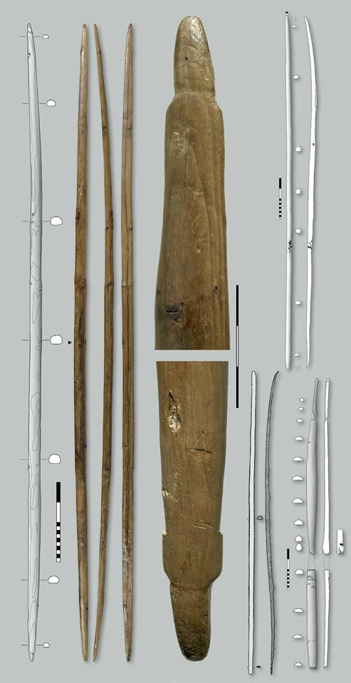 Неолитический лук из Шнидейох идругие неолитические луки стерритории Европы