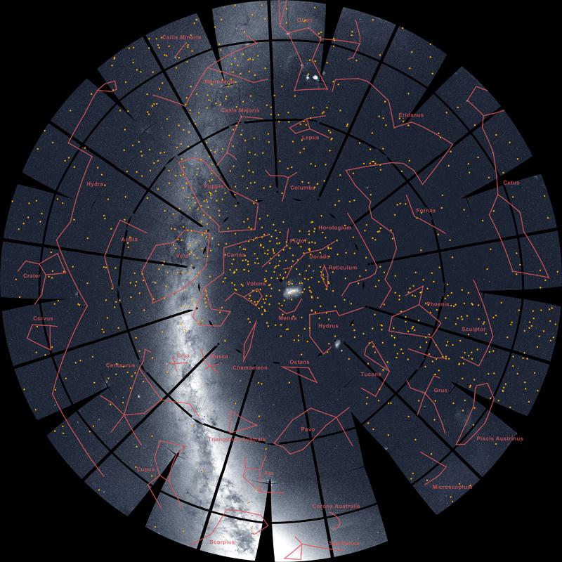 TESS southern sky survey