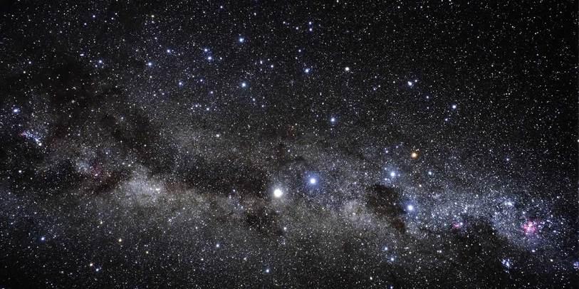 Млечный Путь ипояс Гулда вюжном небе. By: Akira Fujii.
