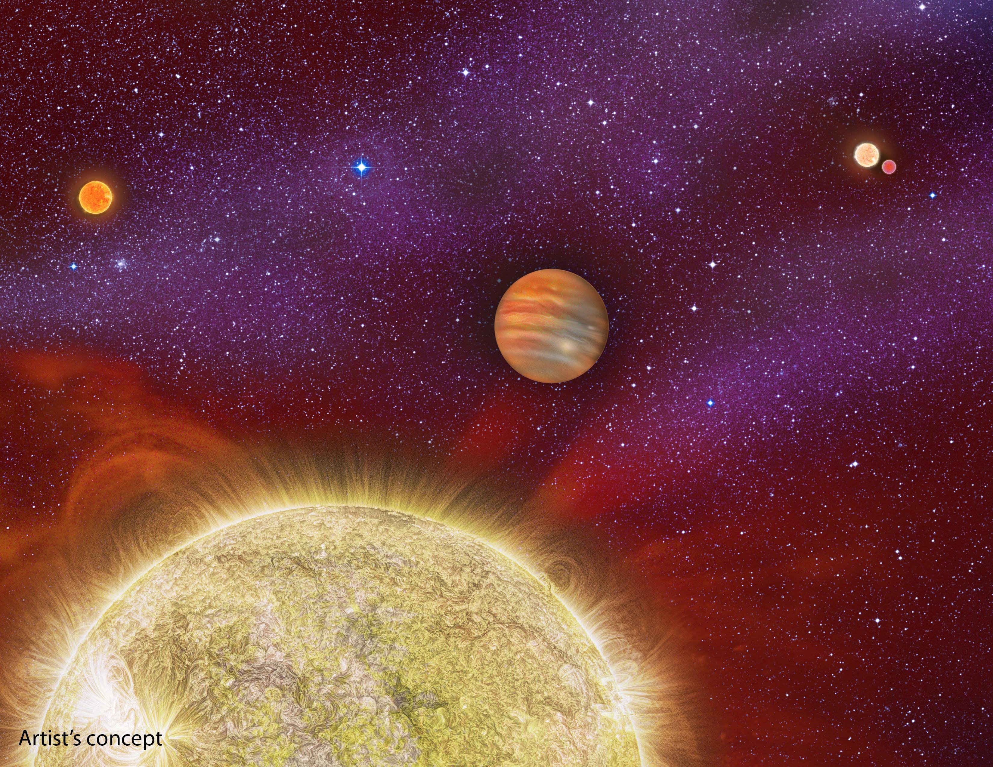 30 Arietis quaternary star system