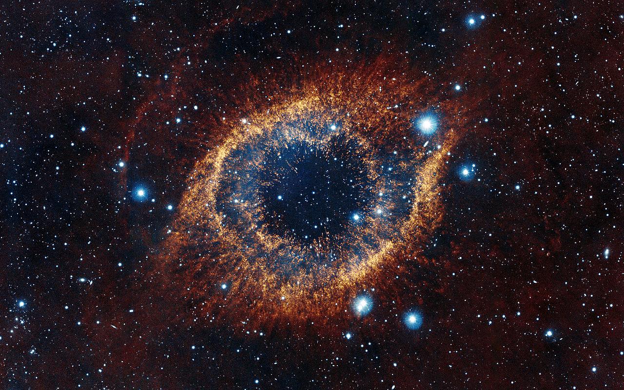 Helix Nebula infrared