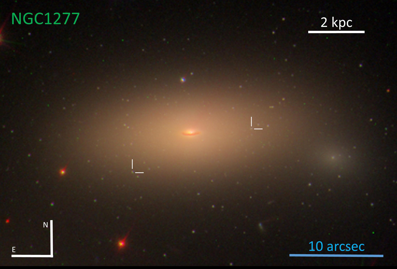 NGC1277 pseudocolors