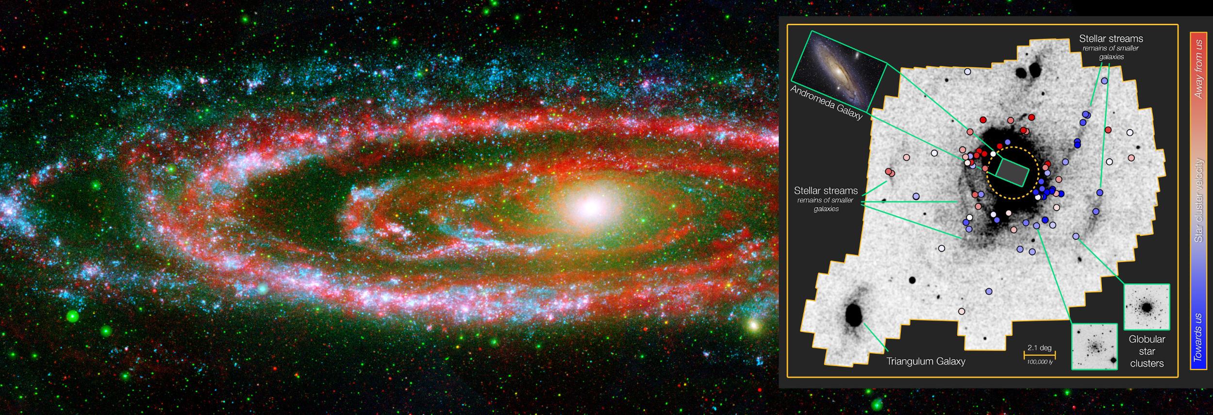 M31 Andromeda globular clusters