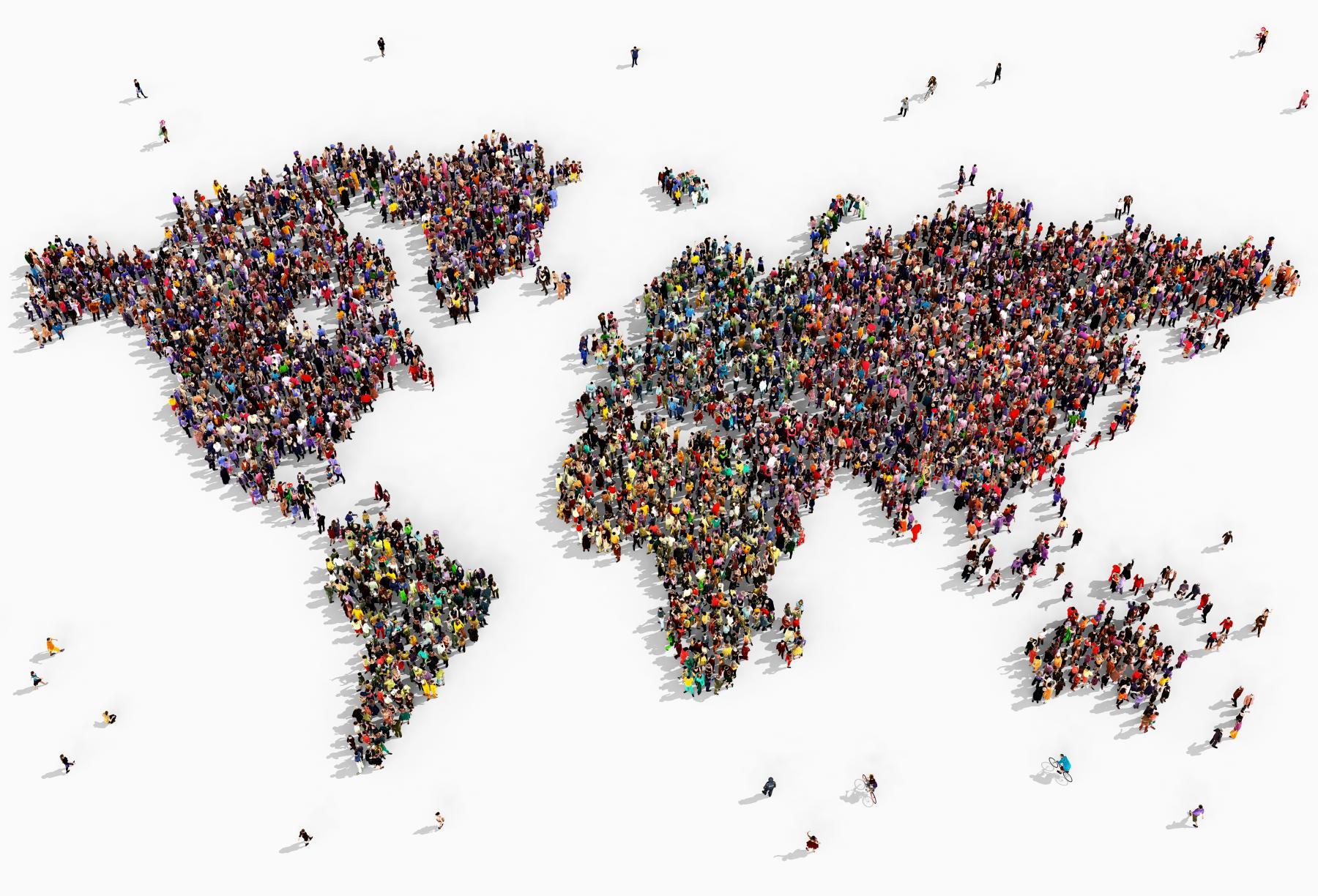 Прирост населения уже скоро будет нетаким значительным.