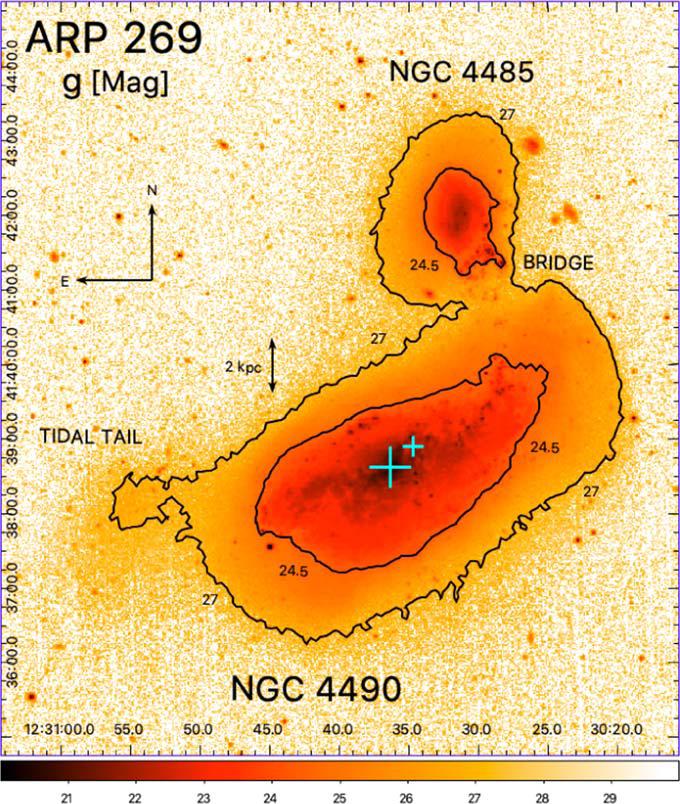 SDSS Arp 269