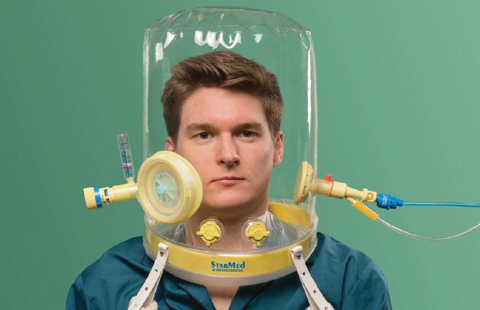 CPAP-hood