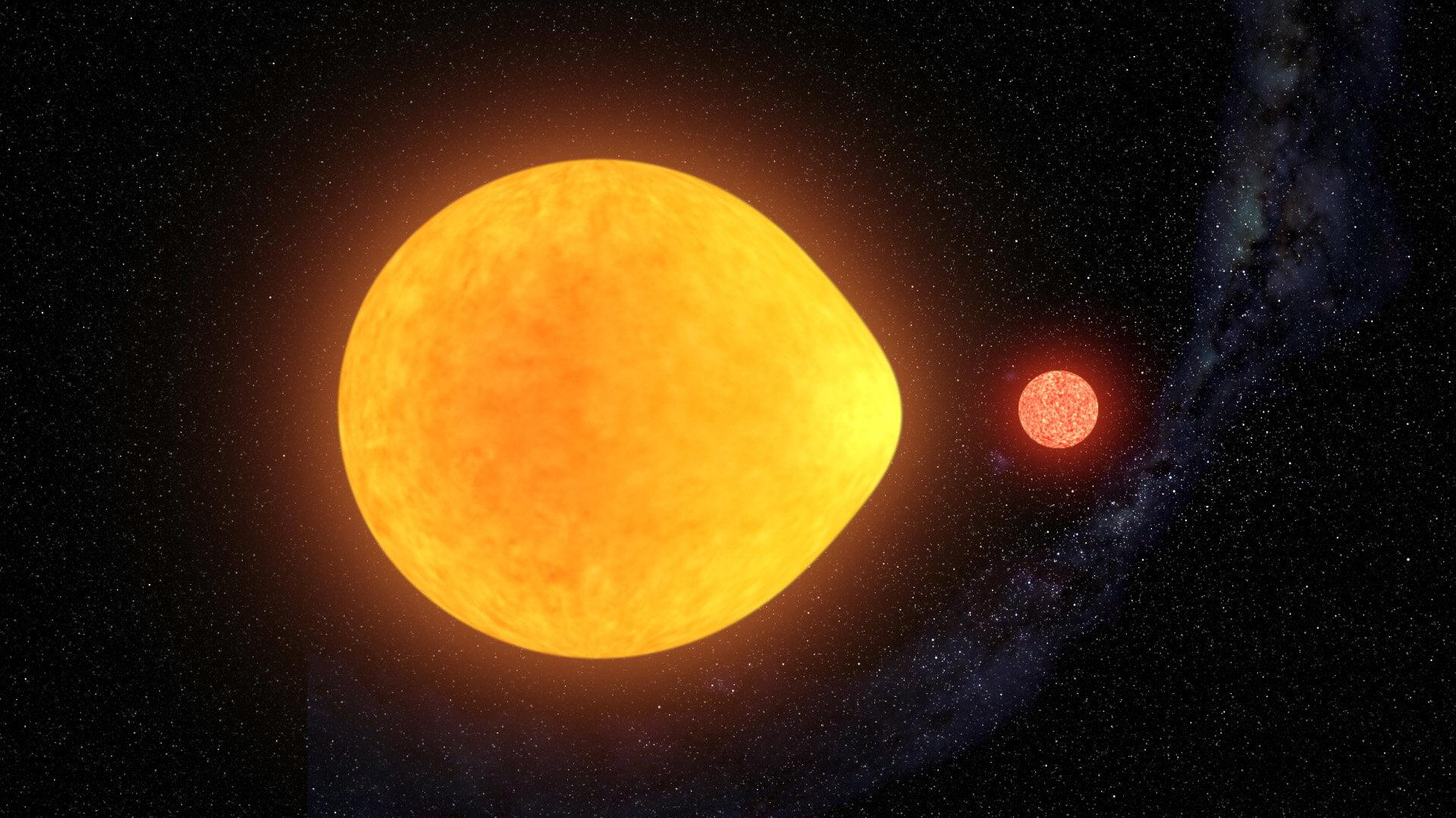 Звезда с«односторонней» пульсацией из-за приливного взаимодействия вдвойной системе— новый класс переменных звёзд.