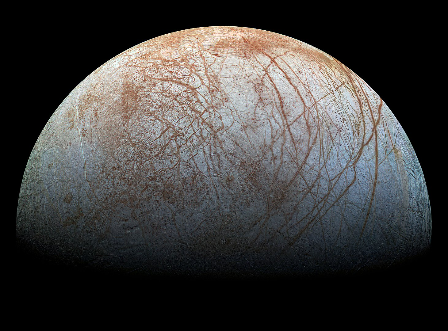 Europa anti-Jovian hemisphere
