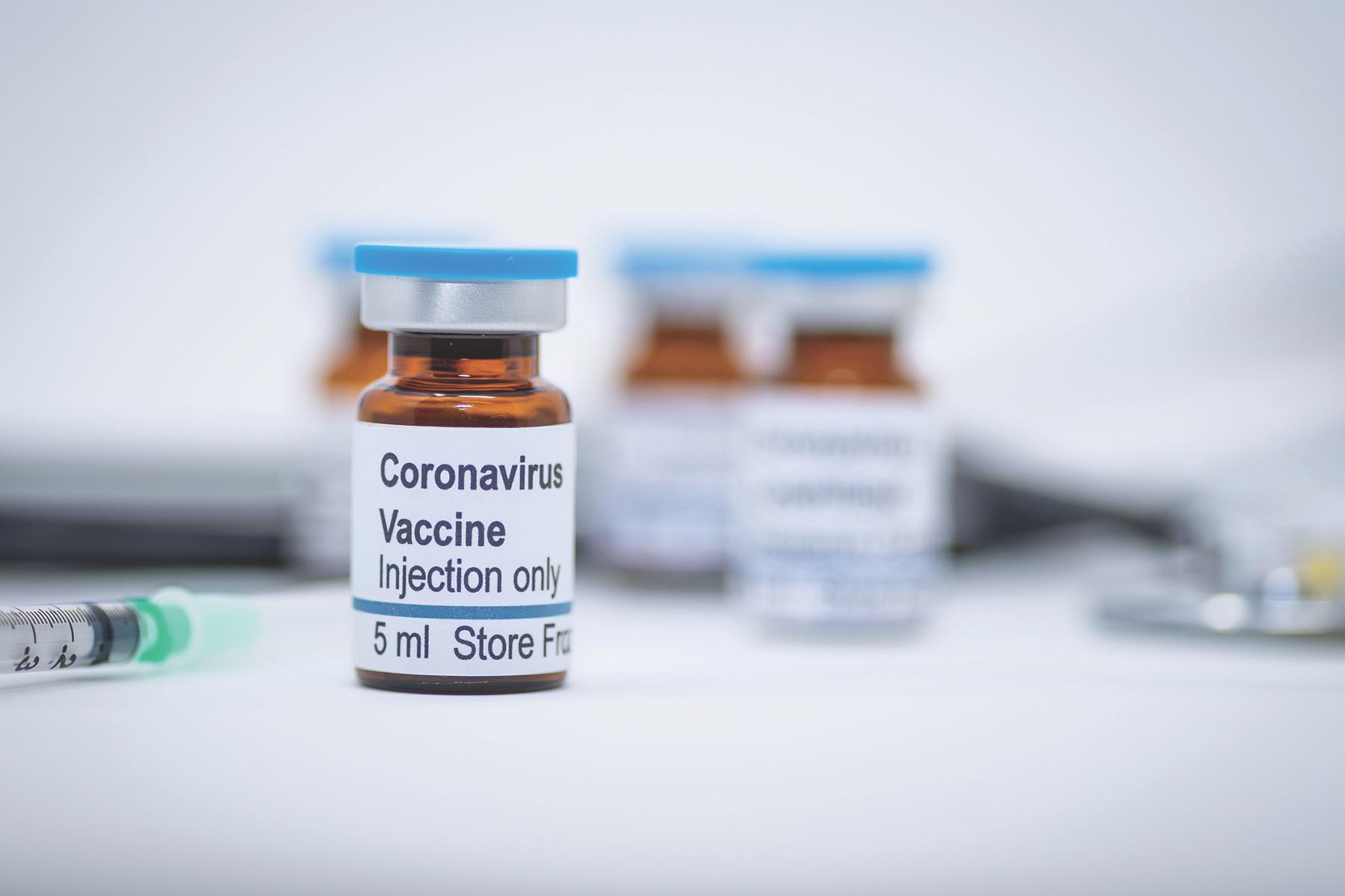 Вакцина от коронавируса, интерпретация фотографа.