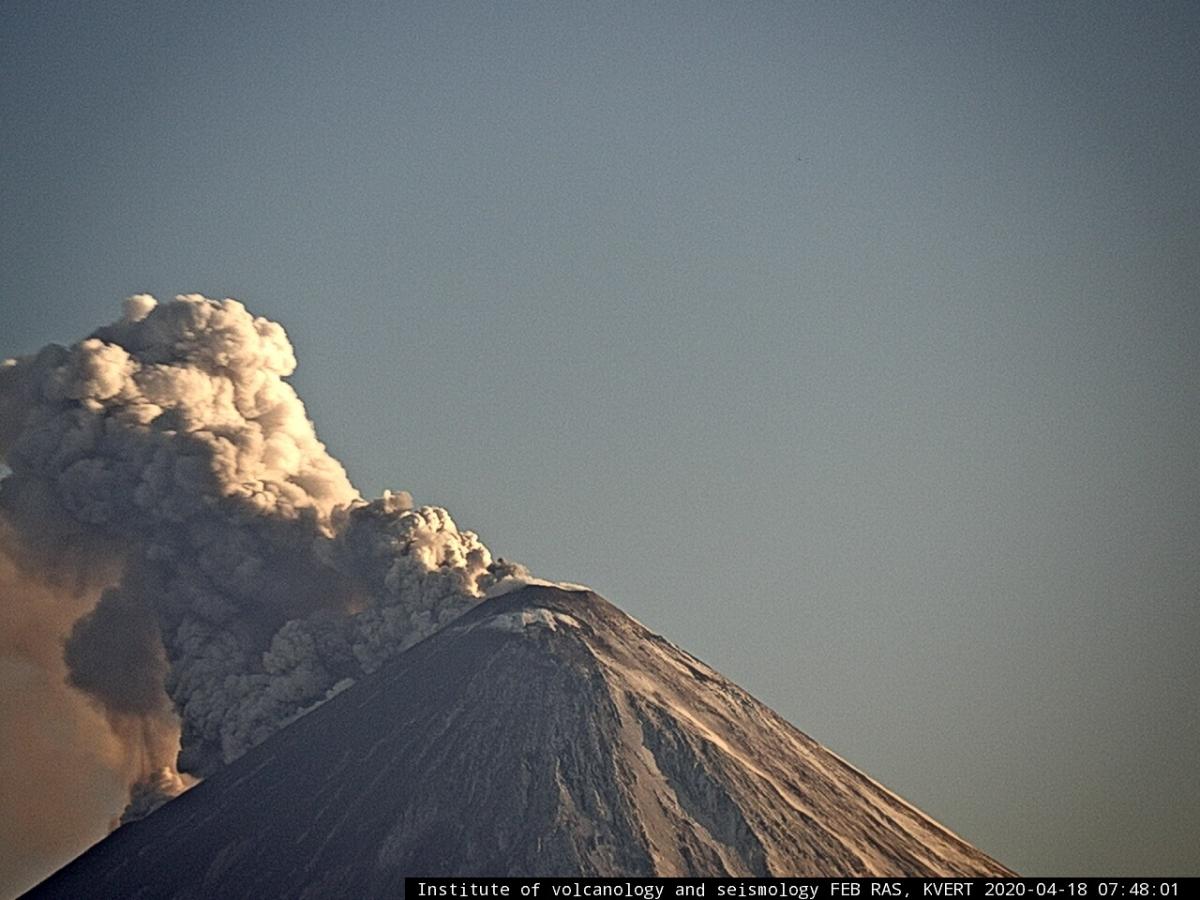 Klyuchevskiy volcano