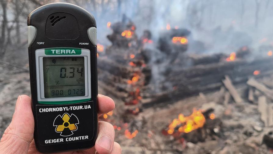 Пожар насамойЧАЭС почти исключён, авот растения инекоторые объекты наприлегающей, заражённой трансурановыми частицами, территории, могут загореться, иэто совсем нежелательно.