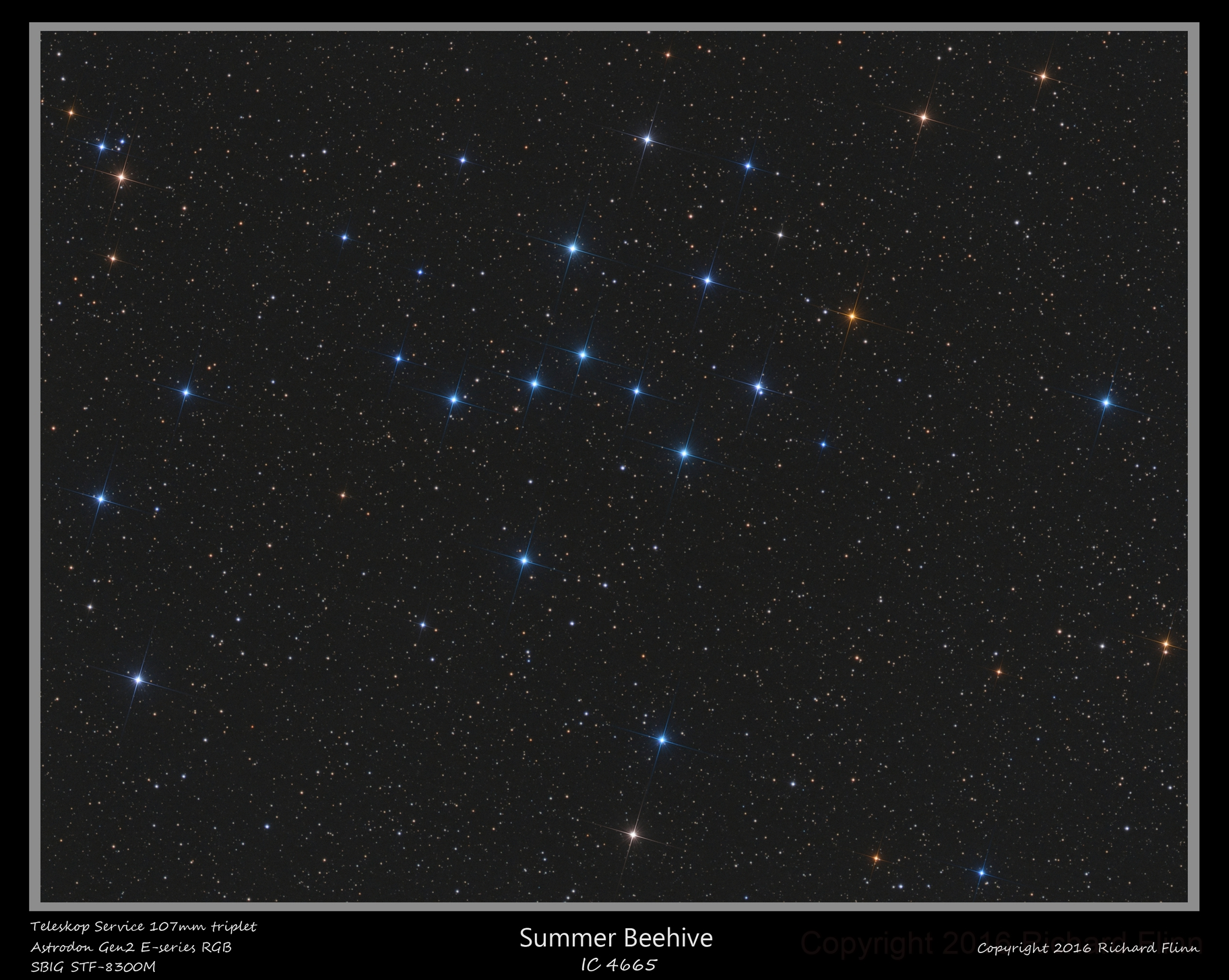 IC 4665 Summer Beehive Cluster