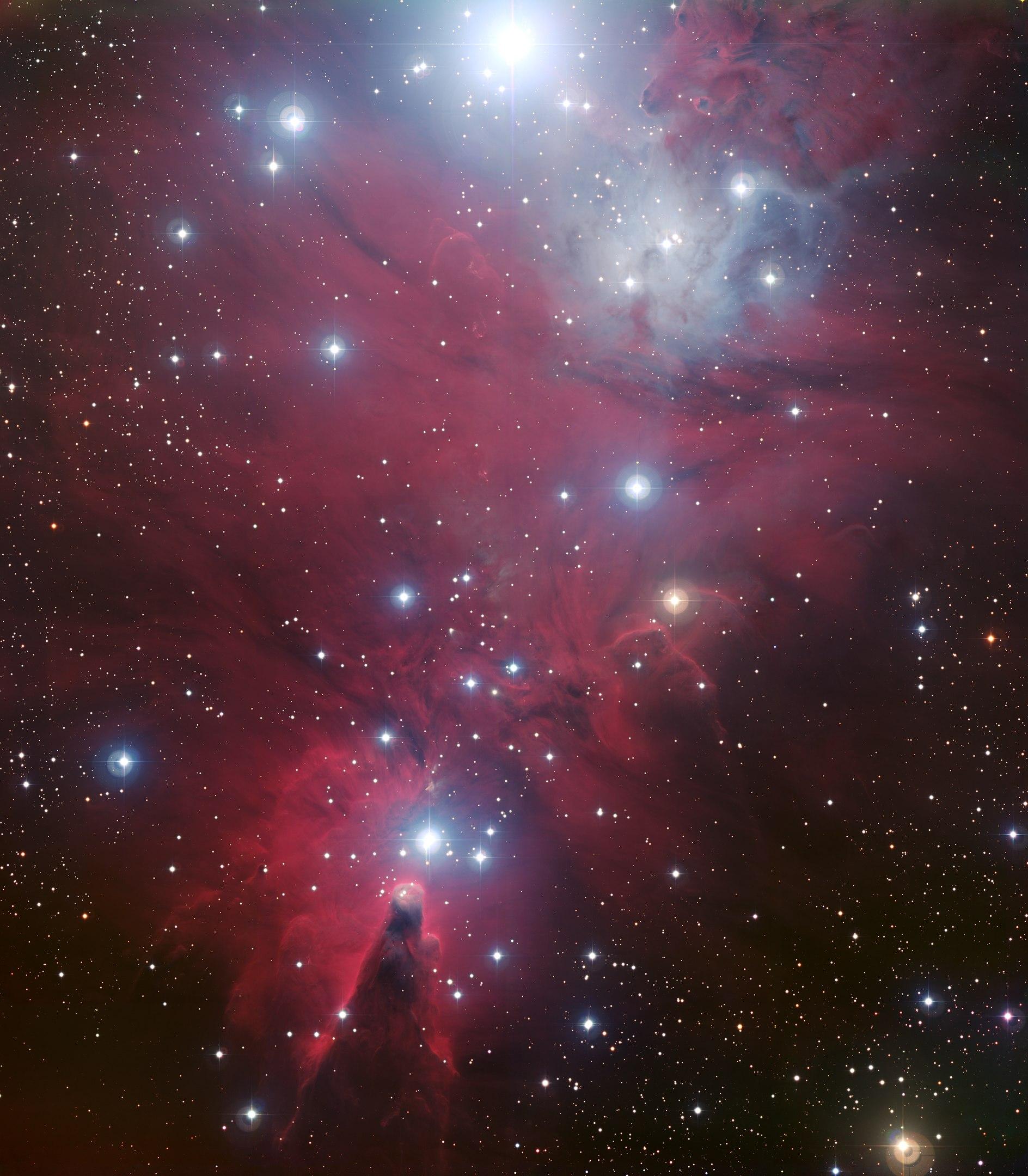 NGC 2264 star cluster, Monoceros
