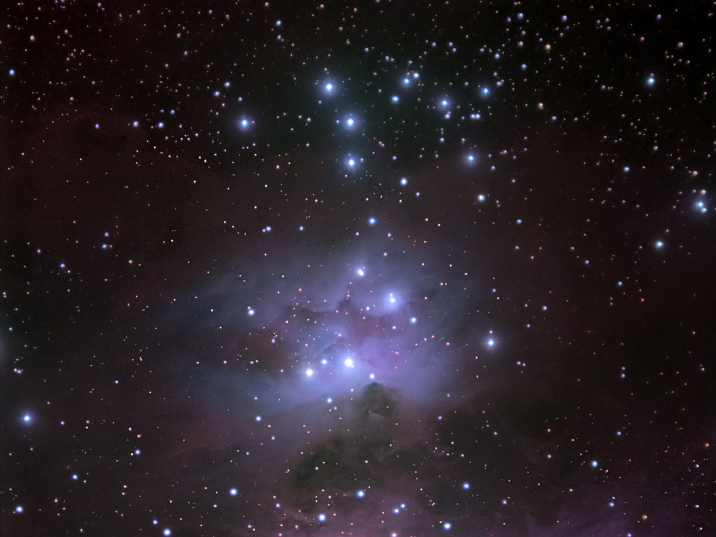 NGC1981 cluster, Orion