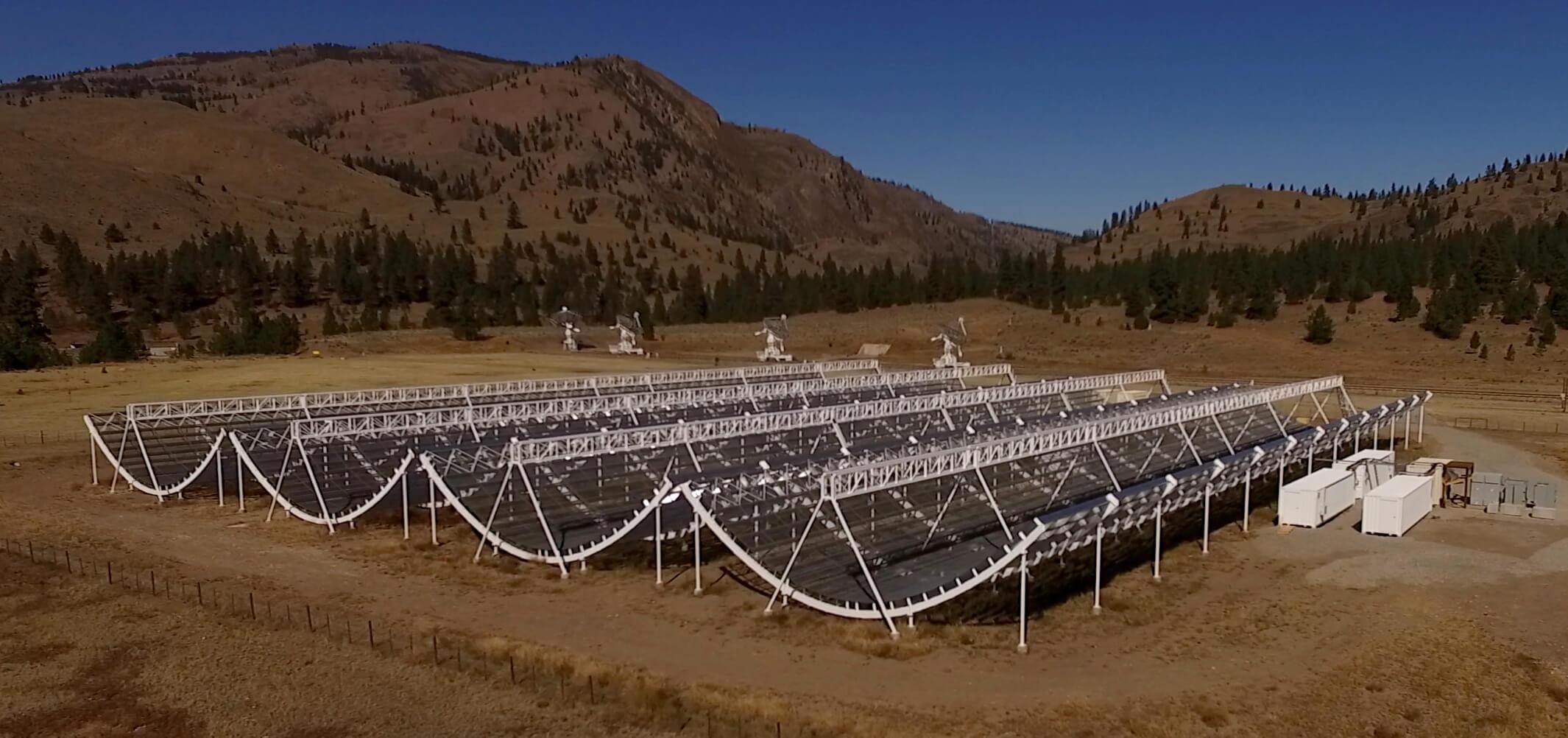 Радиотелескоп <i>CHIME</i> вКанаде.