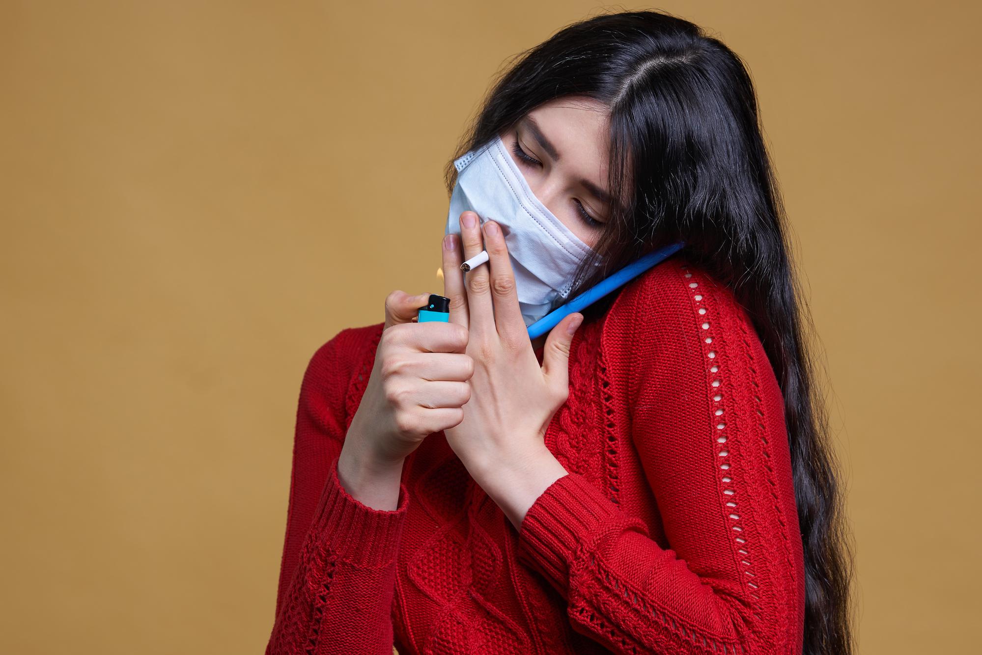 Как связаны курение табака, коронавирусная болезнь итяжесть её протекания?