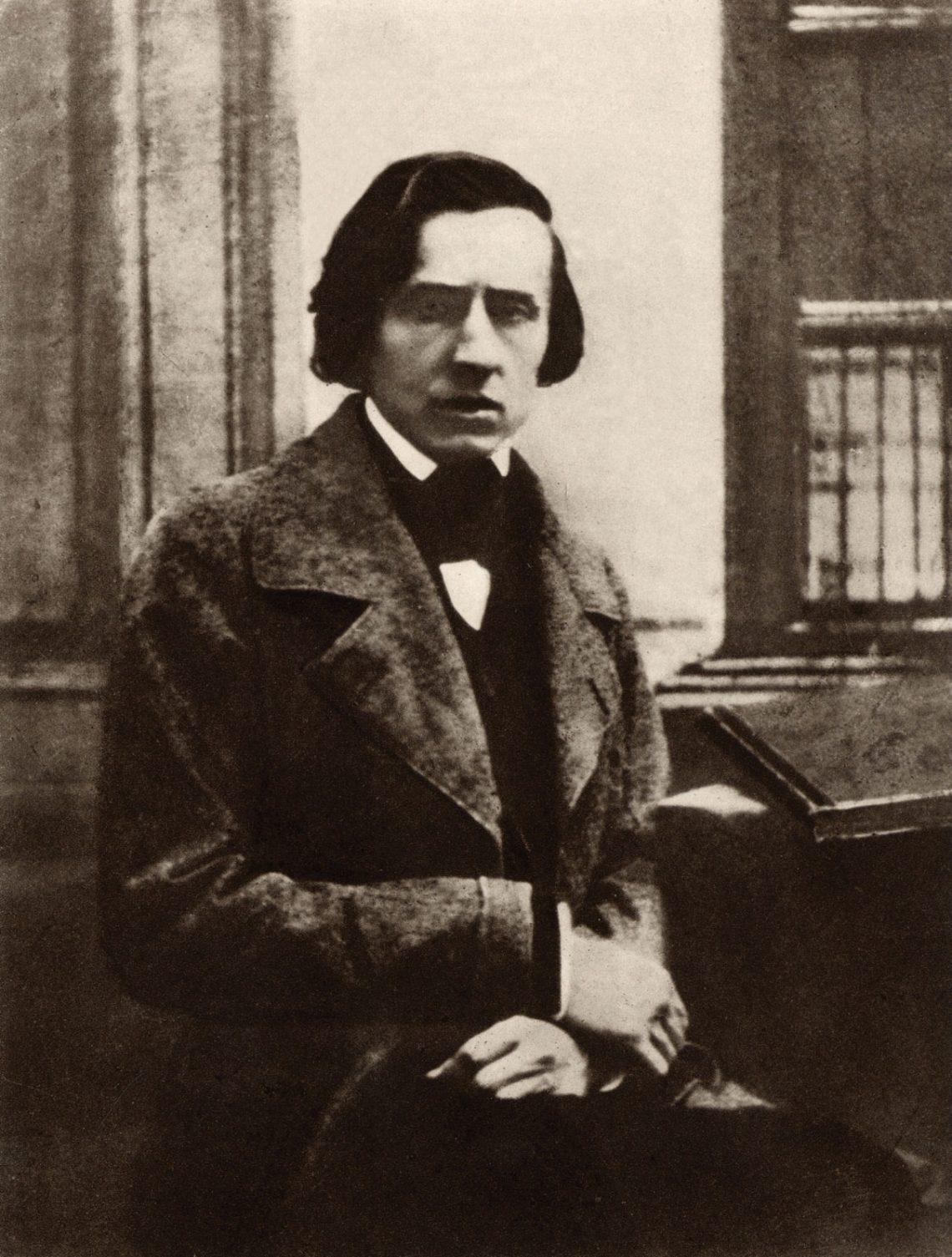 Фредерик Шопен. Фото Луи-Огюста Бисссона, 1849 год.