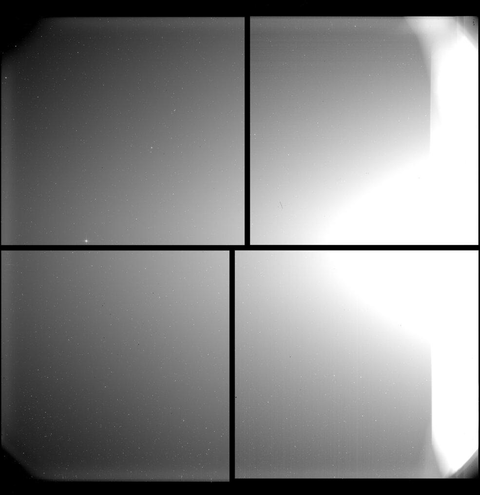 Solar Orbiter first light