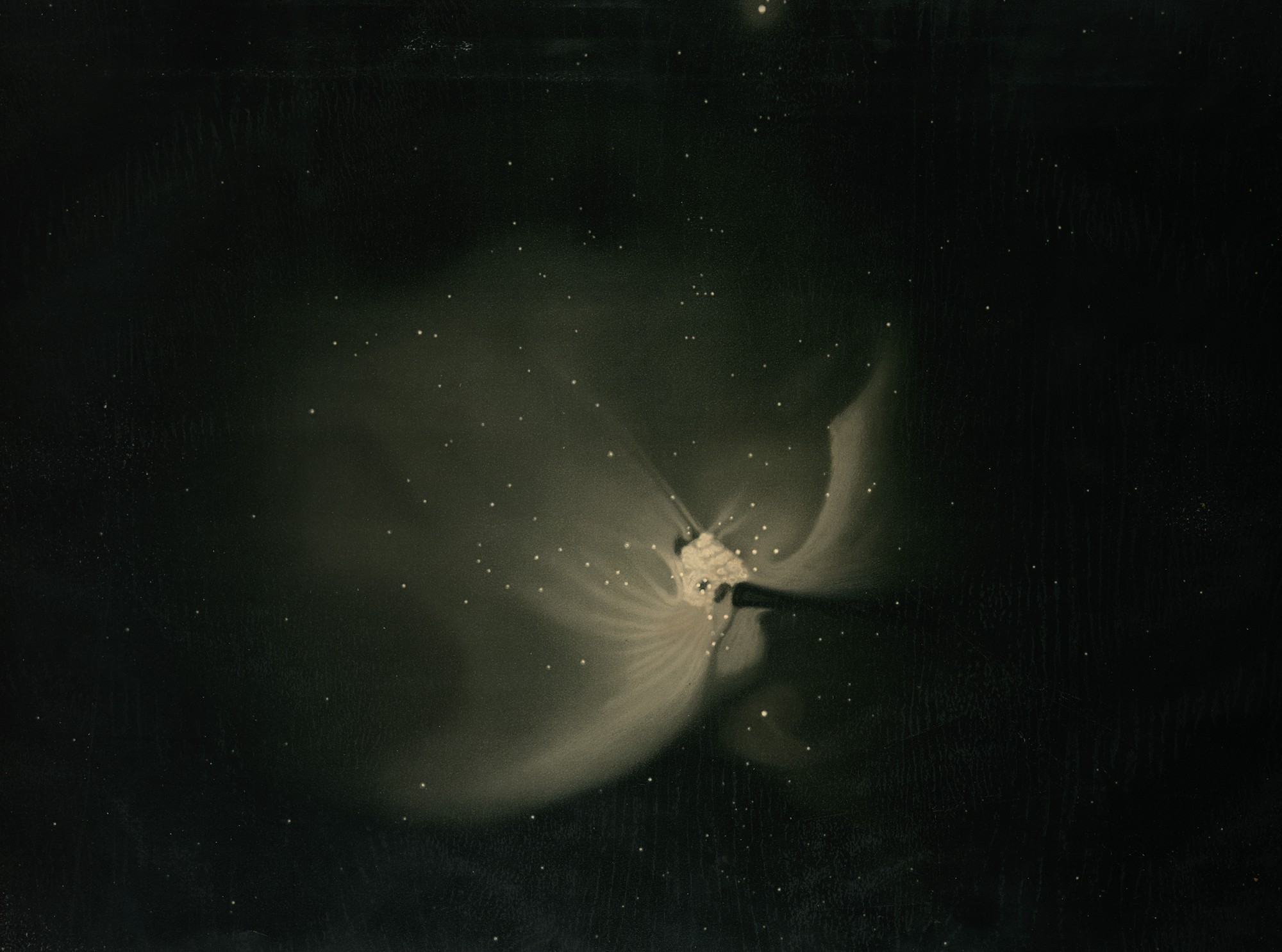 Great Nebula in Orion by E.Trouvelot, 1875-1876