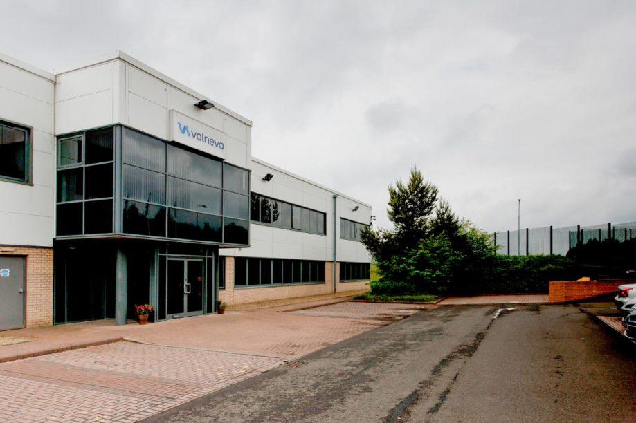 Valneva R&D Center in Livingston, Scotland