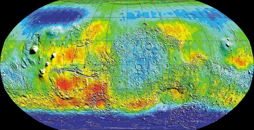 Условия надревнем Марсе могли быть благоприятными для подземных бактерий