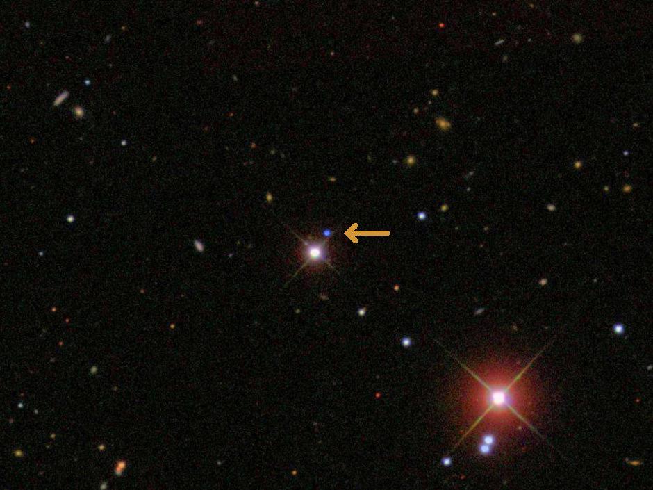 Whie dwarf SDSS J1240+6710