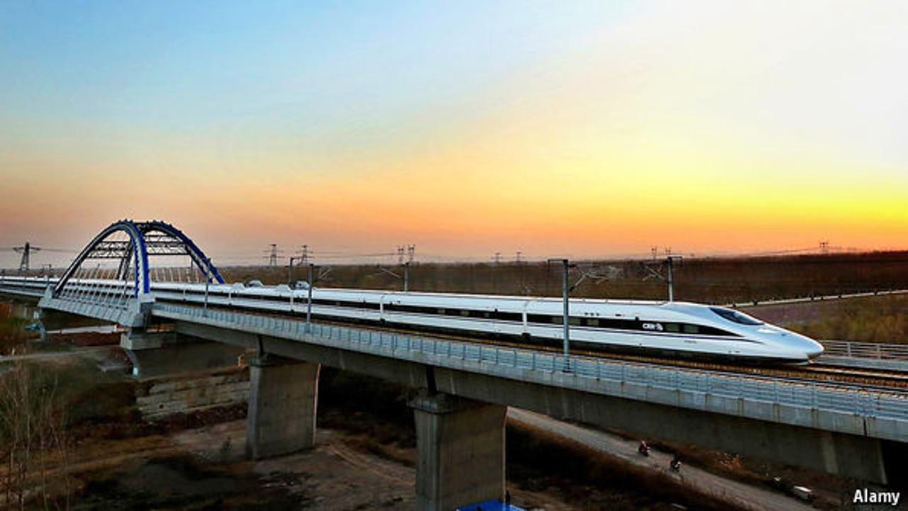 Китайский скоростной поезд серии G.