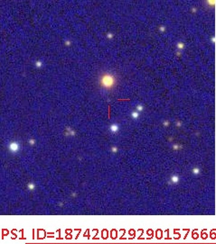NCas2020 pregenitor— PanSTARRS-1 image