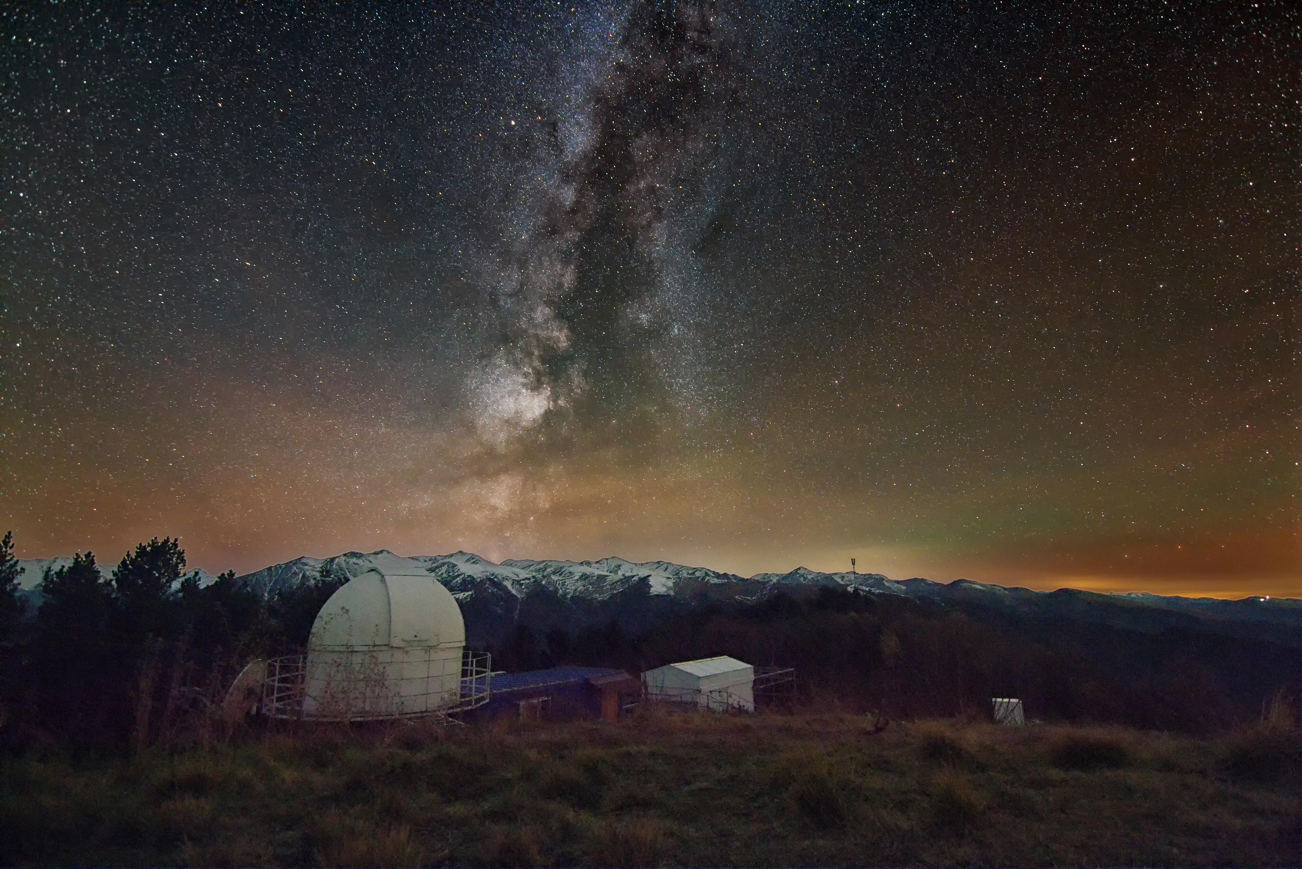 Астрономическая станция ТАУ научного центра «Ка-Дар» (астроферма «Астроверты»), Нижний Архыз.