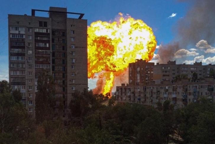 Взрыв вВолгограде 10 августа 2020 года