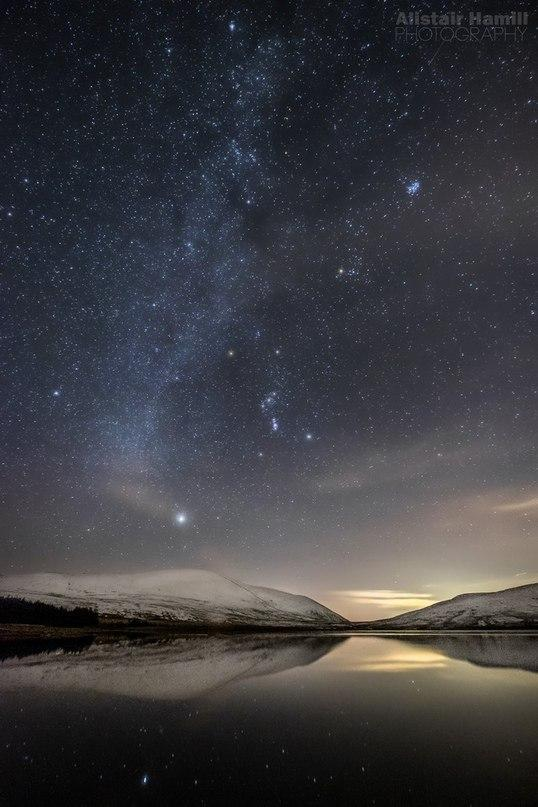 Orion and Milky Way