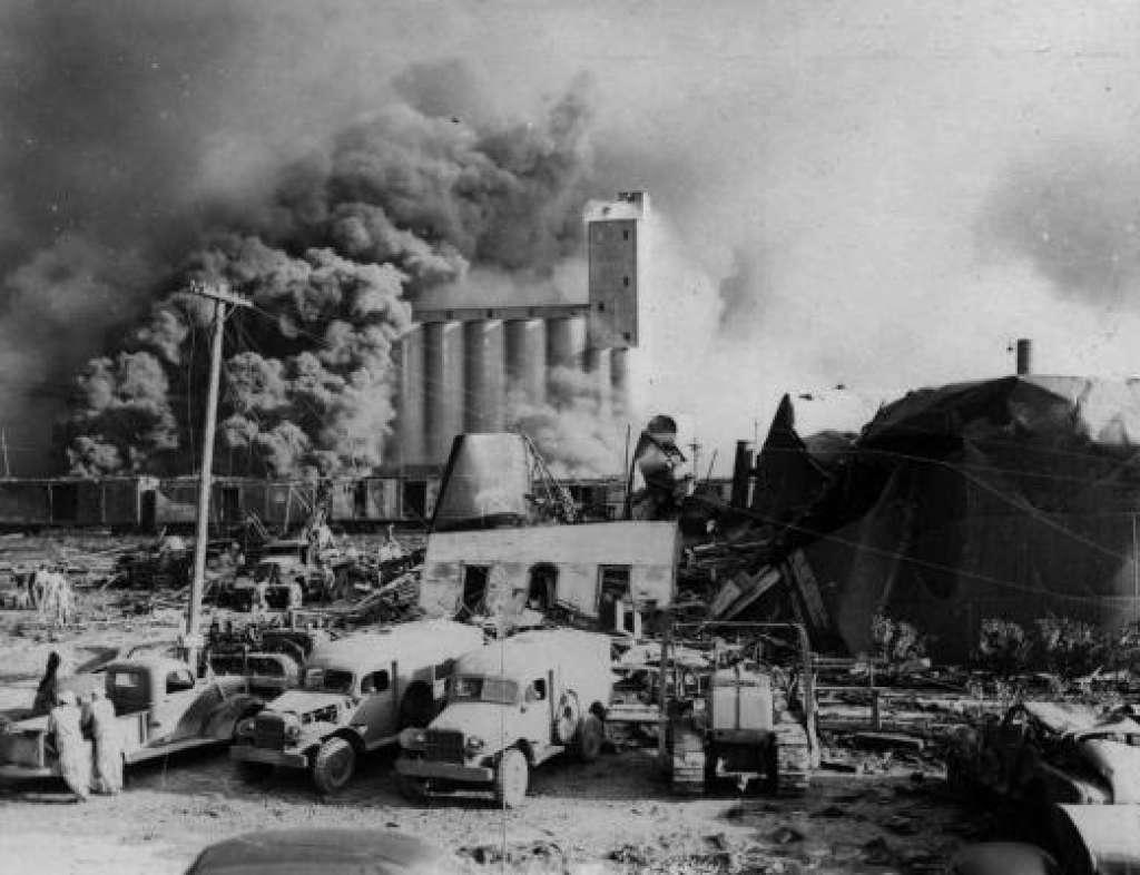 Texas City explosion 1947