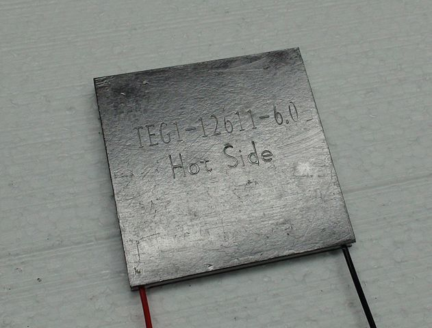 Thermoelectric Seebeck element