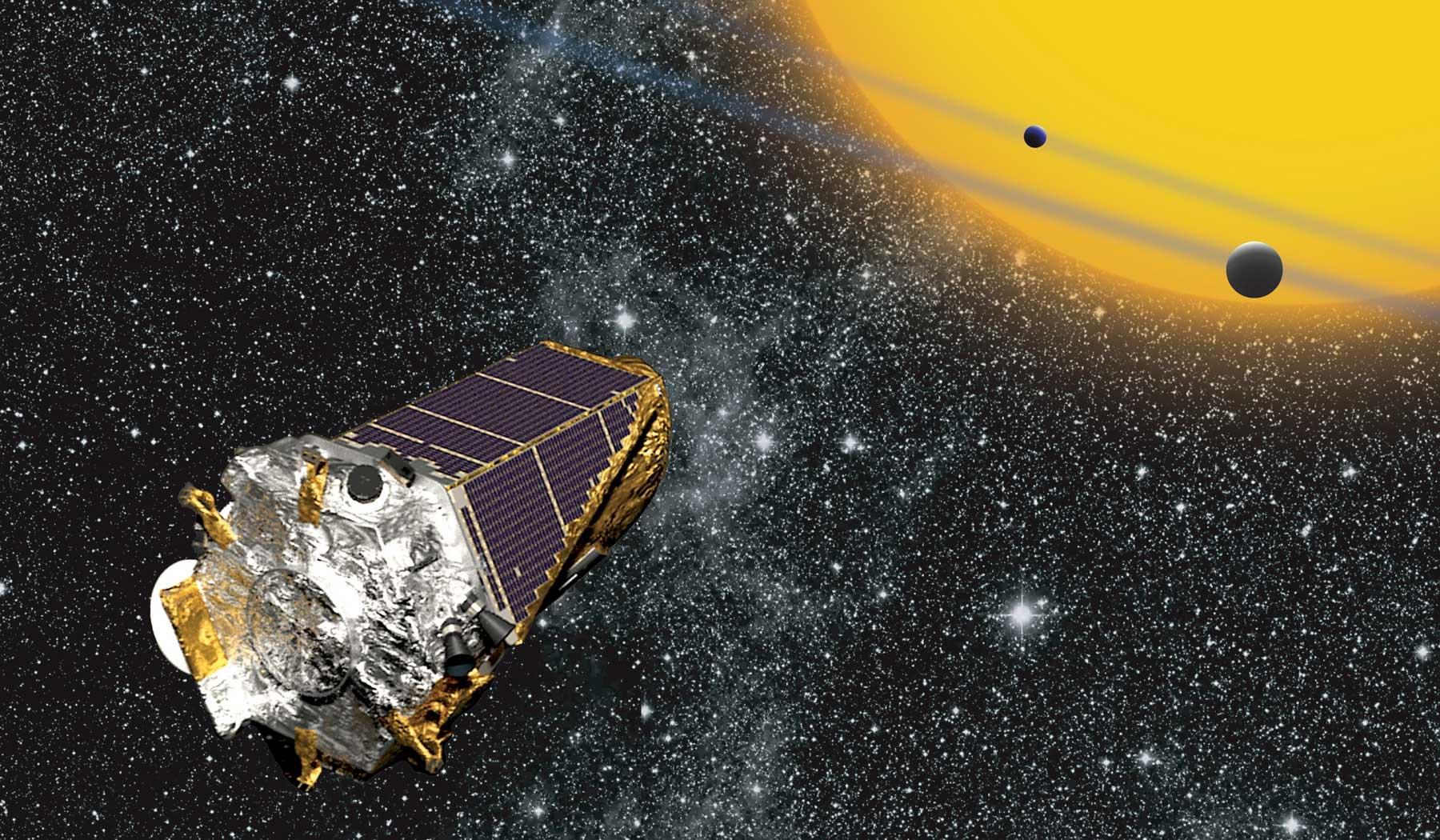 Космический телескоп Kepler.