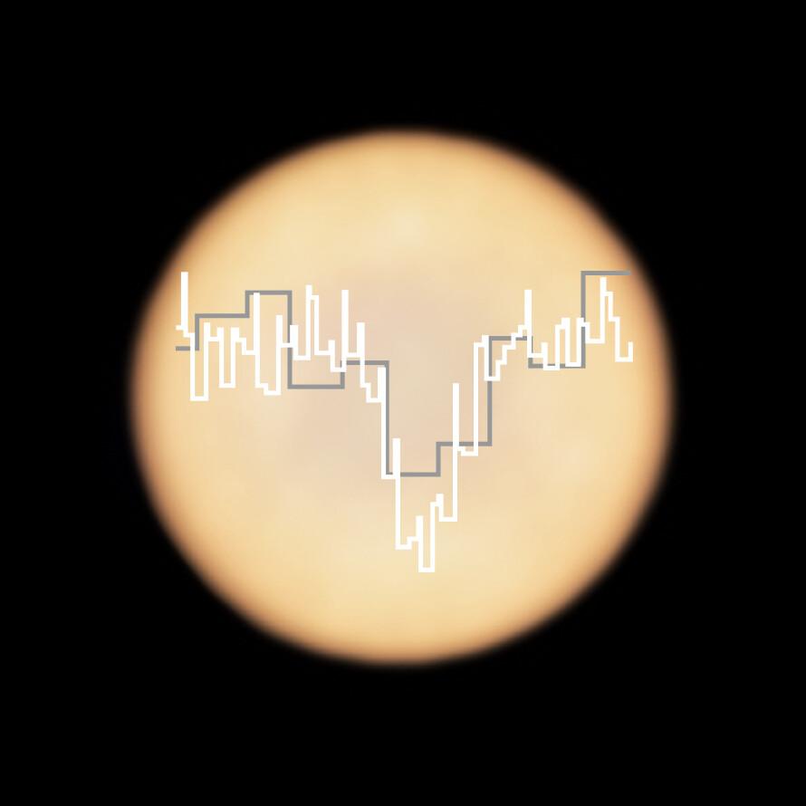 phosphine absorption line on Venus