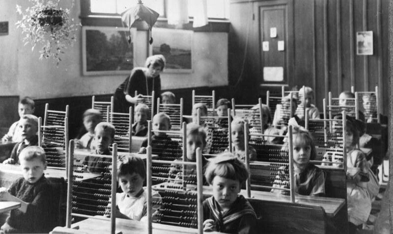 Счёты вклассе, Нидерланды, 1930 год
