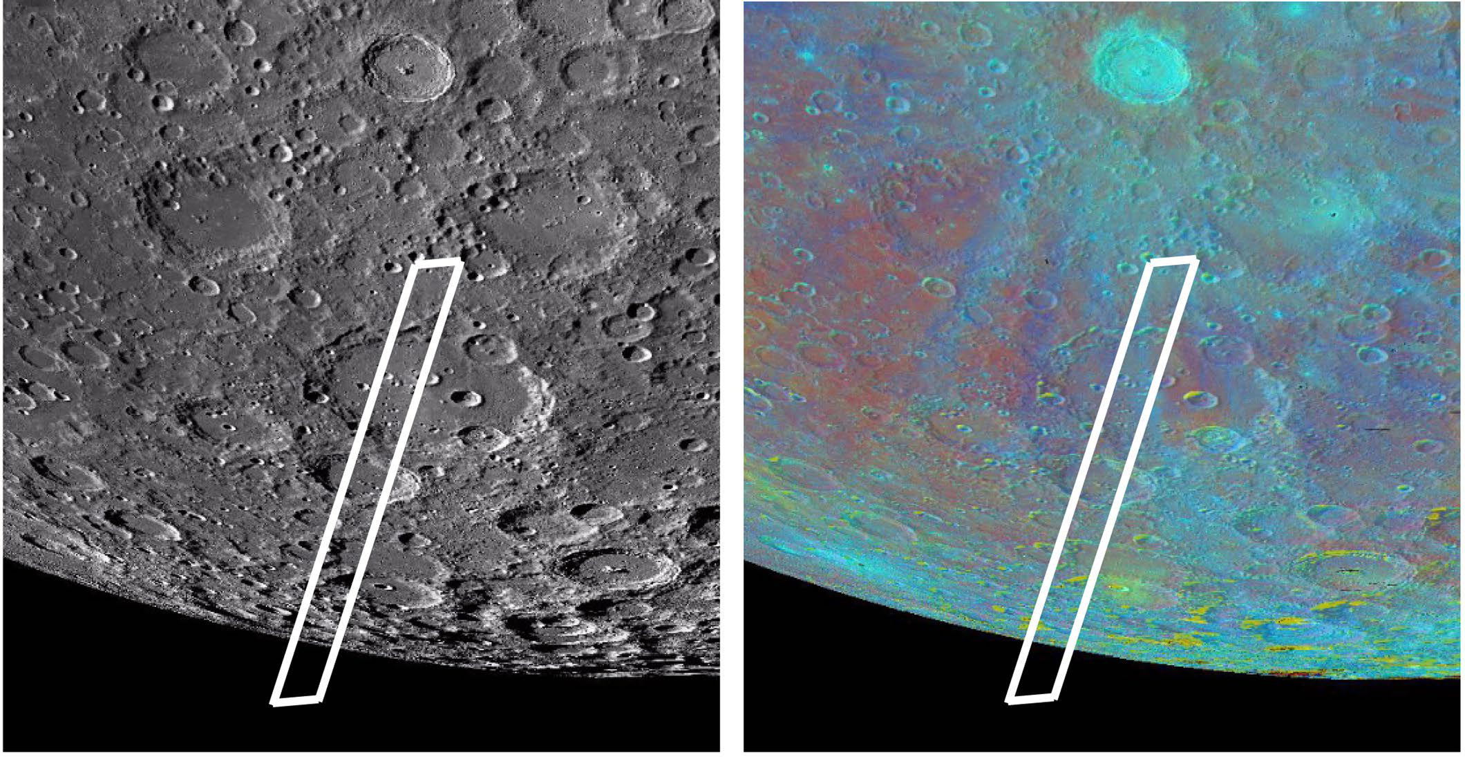 Clavius crater and SOFIA slit area