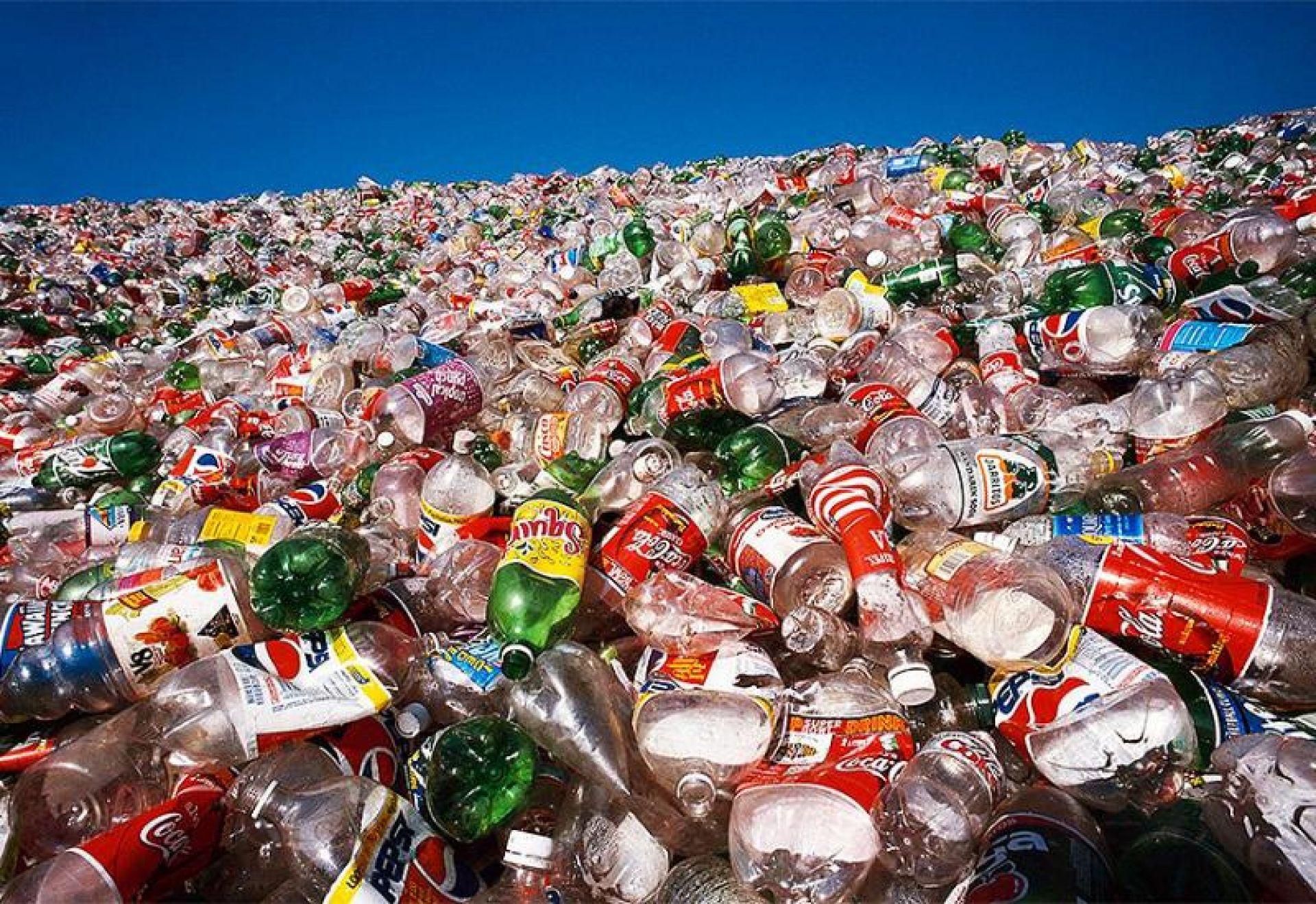 Слишком много пластиковых отходов.