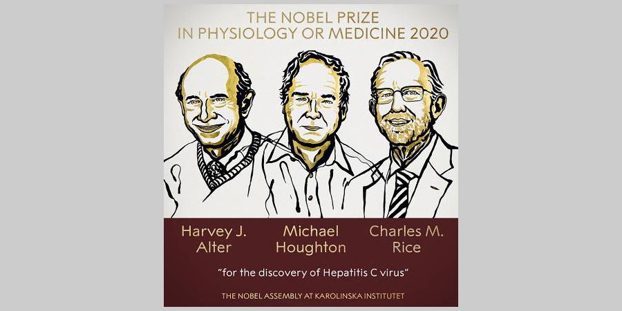 Нобель 2020 по физиологии имедицине.