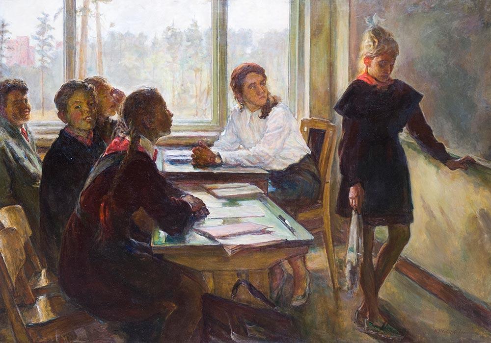 Виктор Цветков. Нерешила