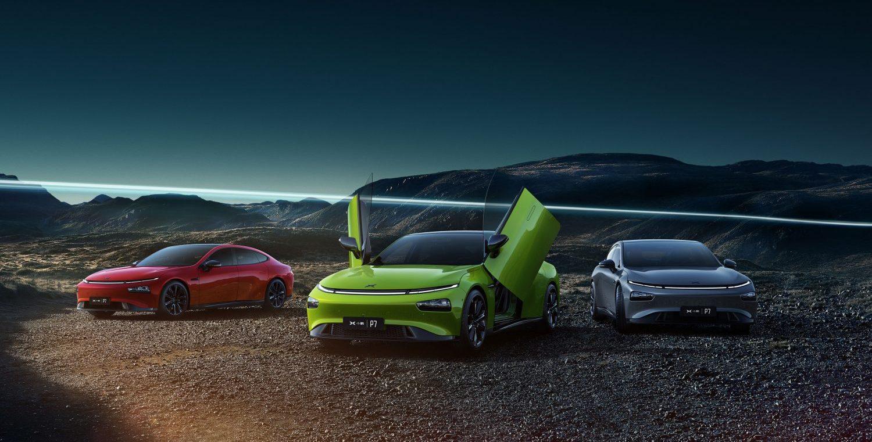 Так будут выглядеть новые машины <i>Xpeng</i>.