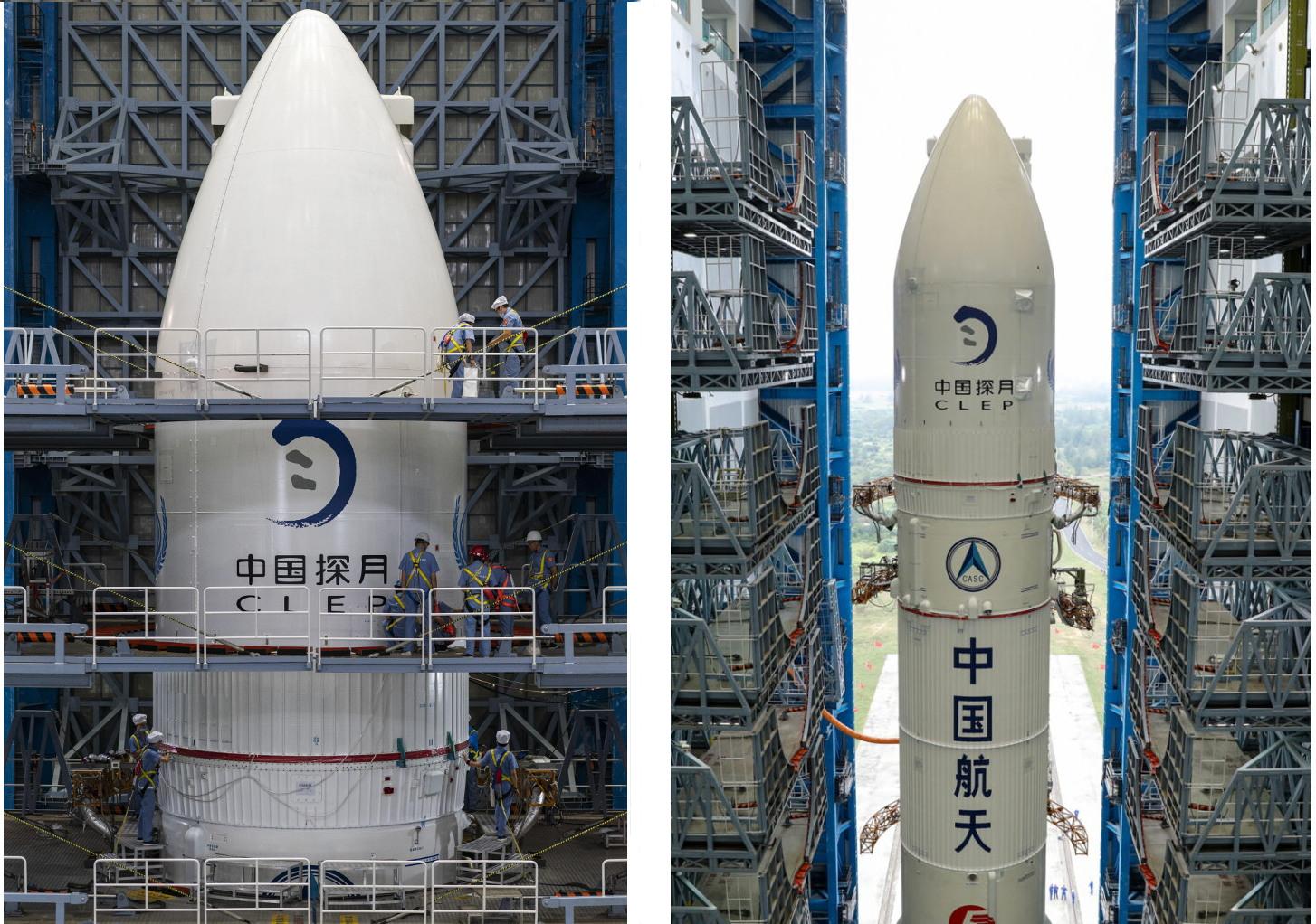 Chang'e-5 payload fairing